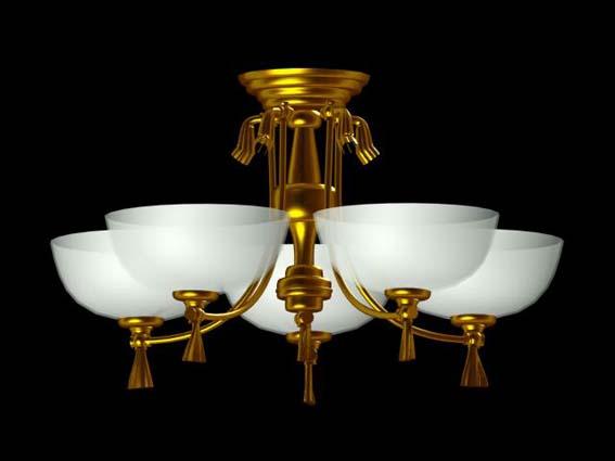 Lighting  – chandeliers 027 3D Model