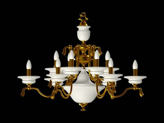 Lighting – chandeliers 028 3D Model