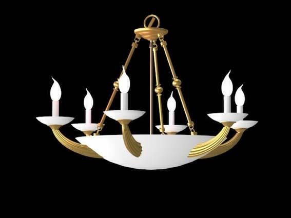 Lighting – chandeliers 031 3D Model