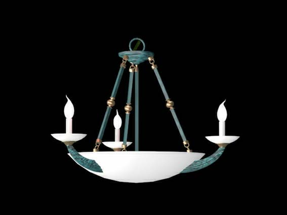 Lighting – chandeliers 032 3D Model