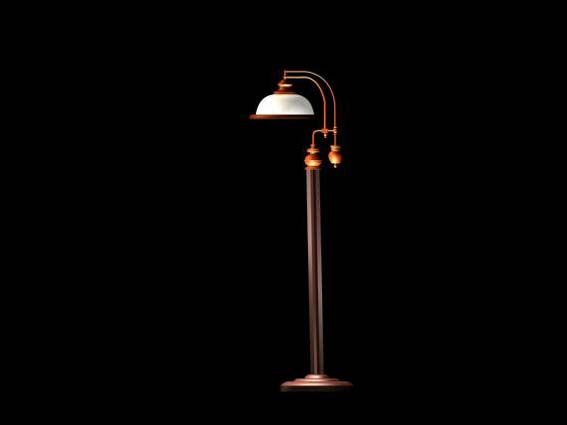 Lighting  – landing lights 004 3D Model