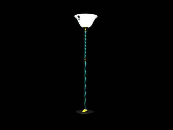 Lighting – landing lights 005 3D Model