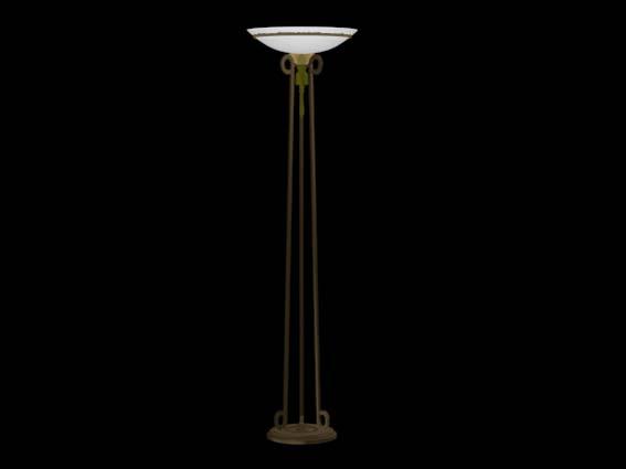 Lighting – landing lights 016 3D Model