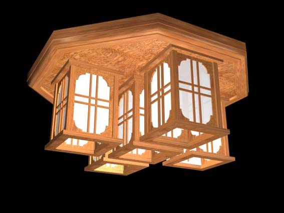 Lighting – million 014 3D Model