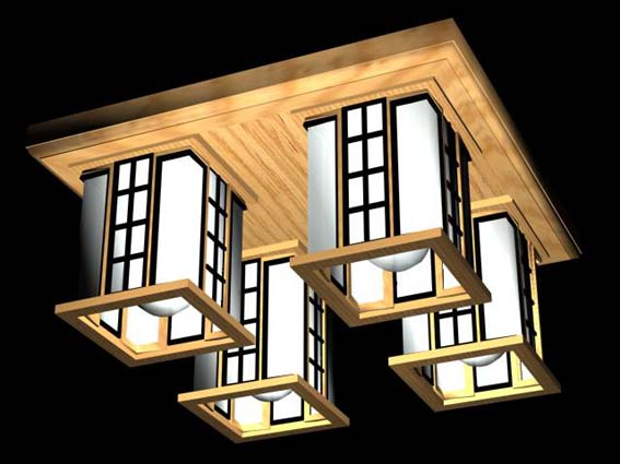 Lighting – million 015 3D Model