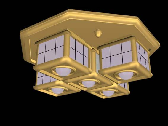 Lighting – million 017 3D Model