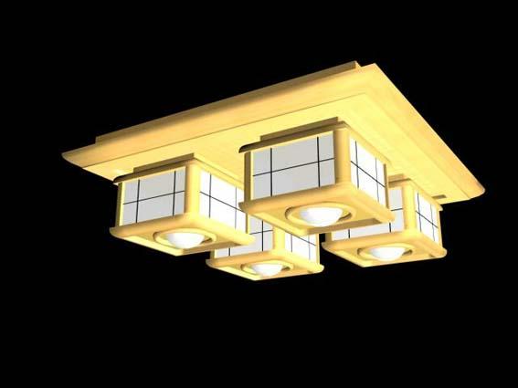 Lighting – million 018 3D Model
