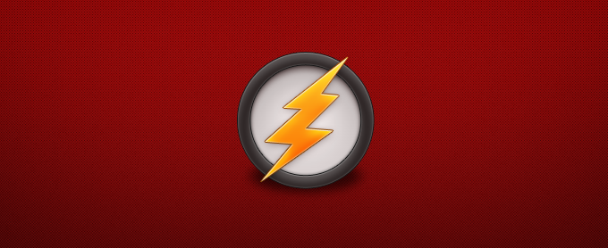 Lightning Bolt Icon PSD