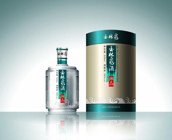Liquor packaging design source material