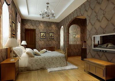 luxurious bedroom 3D Model