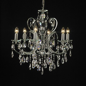 Luxury crystal pendent lamp 3D Model