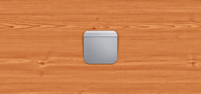 Magic Trackpad Icon PSD
