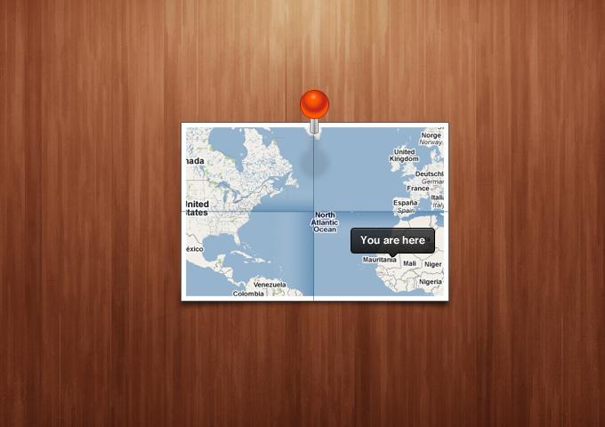 Map UI PSD