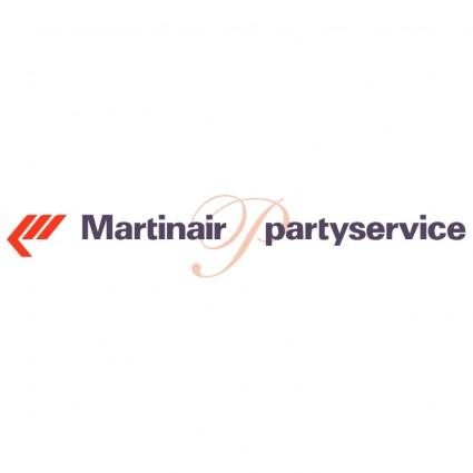 martinair partyservice logo
