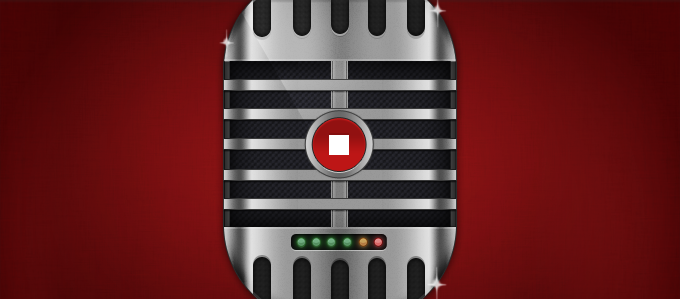 Microphone/Recorder UI PSD