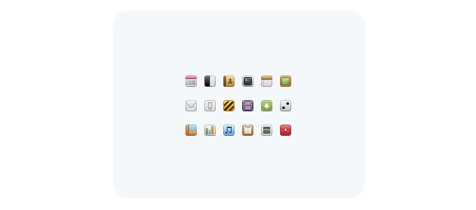 Minim Icons PSD
