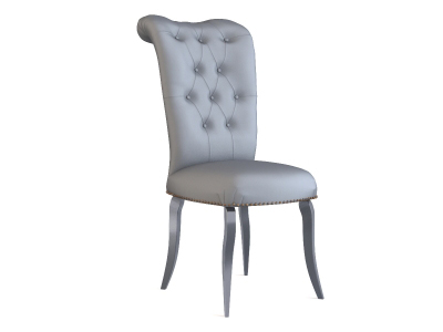Model of a European-style chairs 3D Model