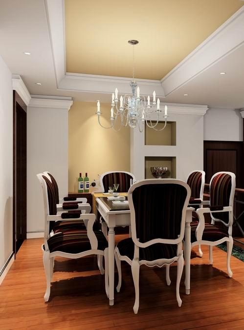 Model of European Dining-room 3D Model