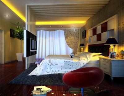Modern and stylish luxury bedroom 3D Model