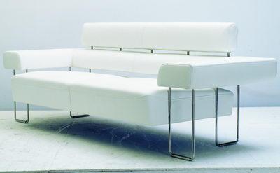 modern and white sofa 3D Model
