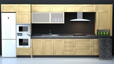 Modern cabinet model 3D Model