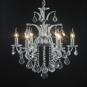 Modern crystal chandelier Model-1 3D Model