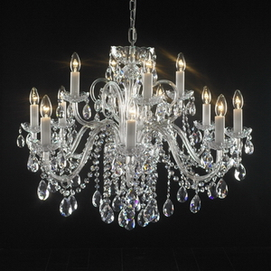 Modern crystal chandelier Model-12 3D Model