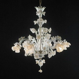Modern crystal chandelier Model-13 3D Model