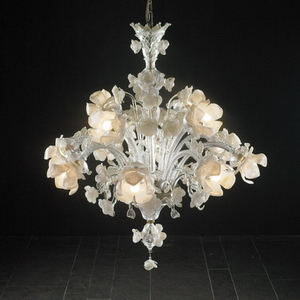Modern crystal chandelier Model-16 3D Model