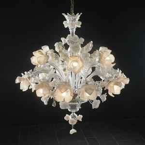 Modern crystal chandelier Model-17 3D Model