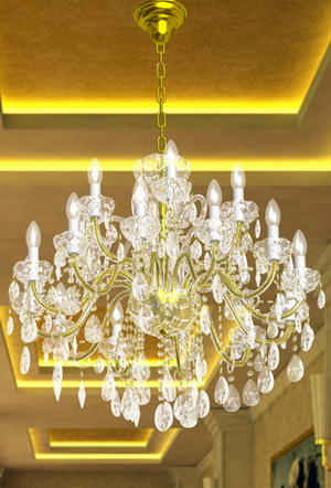 Modern crystal chandelier Model-20 3D Model
