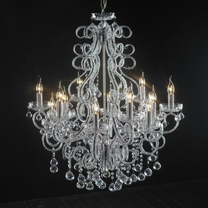Modern crystal chandelier Model-21 3D Model