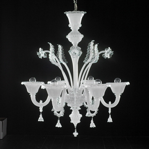 Modern crystal chandelier Model-25 3D Model