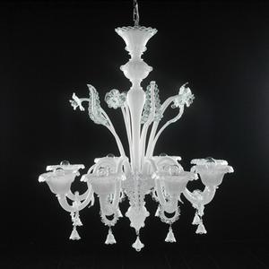 Modern crystal chandelier Model-26 3D Model