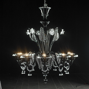 Modern crystal chandelier Model-27 3D Model