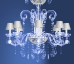 Modern crystal chandelier Model-30 3D Model