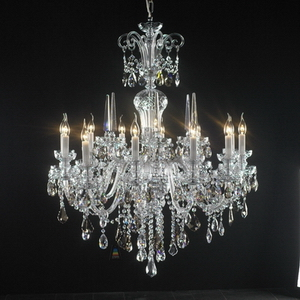 Modern crystal chandelier Model-32 3D Model