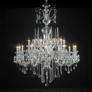 Modern crystal chandelier Model-33 3D Model