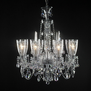 Modern crystal chandelier Model-35 3D Model