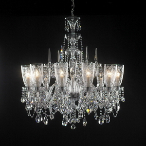 Modern crystal chandelier Model-36 3D Model