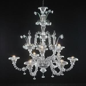 Modern crystal chandelier Model-37 3D Model