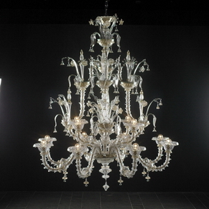 Modern crystal chandelier Model-38 3D Model