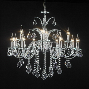 Modern crystal chandelier Model-4 3D Model