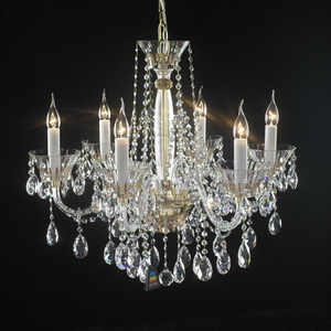 Modern crystal chandelier Model-40-5 3D Model