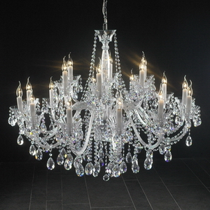 Modern crystal chandelier Model-41-5 3D Model