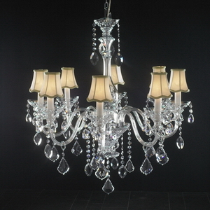 Modern crystal chandelier Model-42-5 3D Model