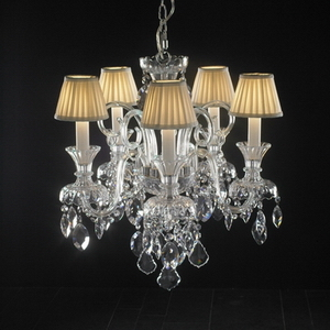 Modern crystal chandelier Model-43-5 3D Model