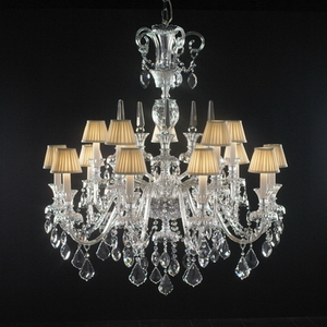 Modern crystal chandelier Model-44-5 3D Model