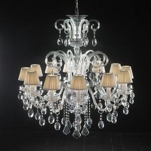 Modern crystal chandelier Model-45-5 3D Model