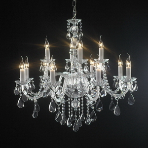 Modern crystal chandelier Model-46-5 3D Model